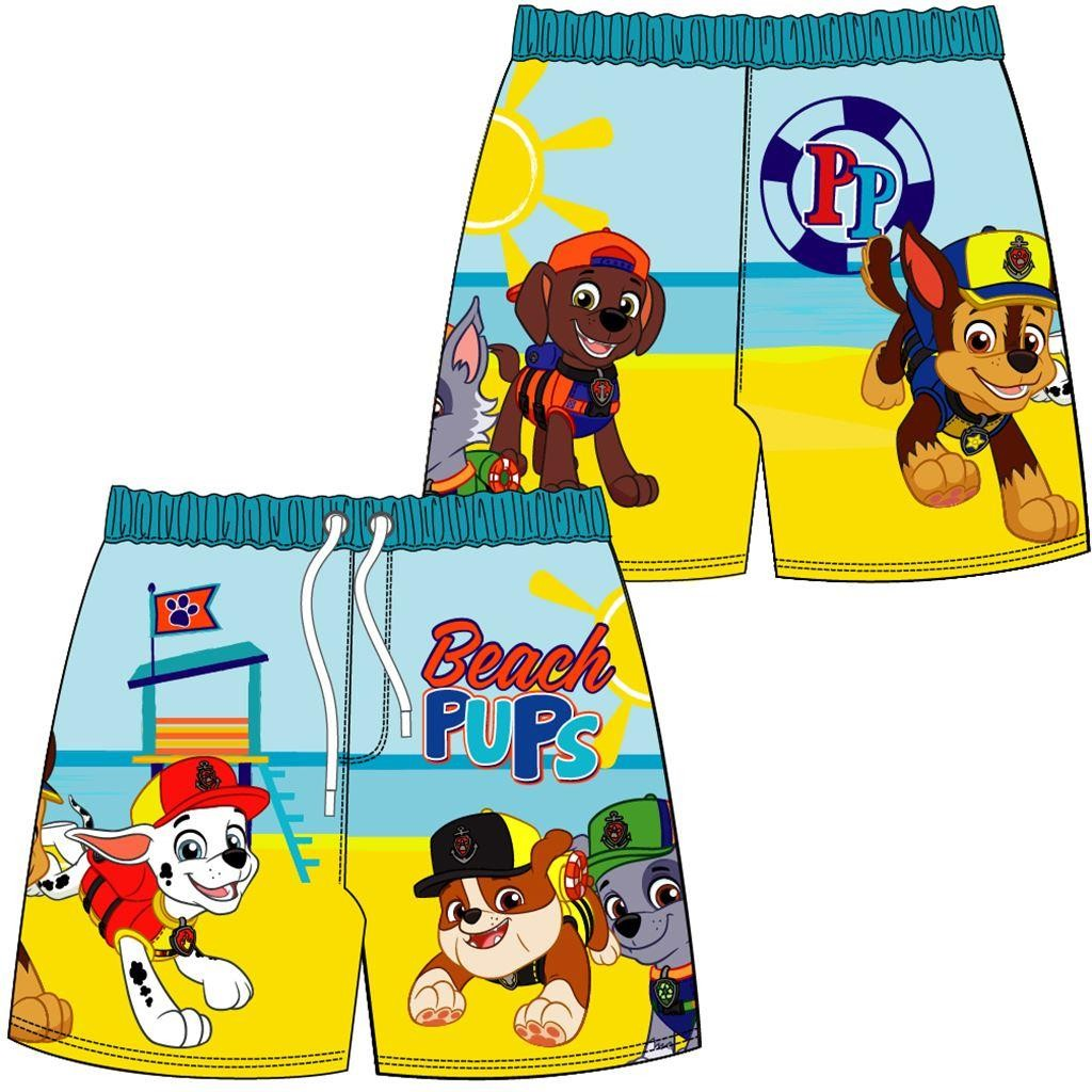 Boys Paw Patrol 'Beach Pups' Swim Shorts
