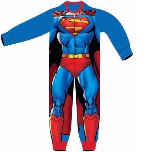 Superman Costume Fleece Onesie