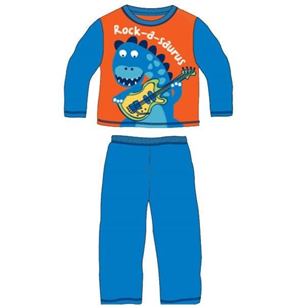 Children's Rock-a-saurus Pyjamas Orange/Blue