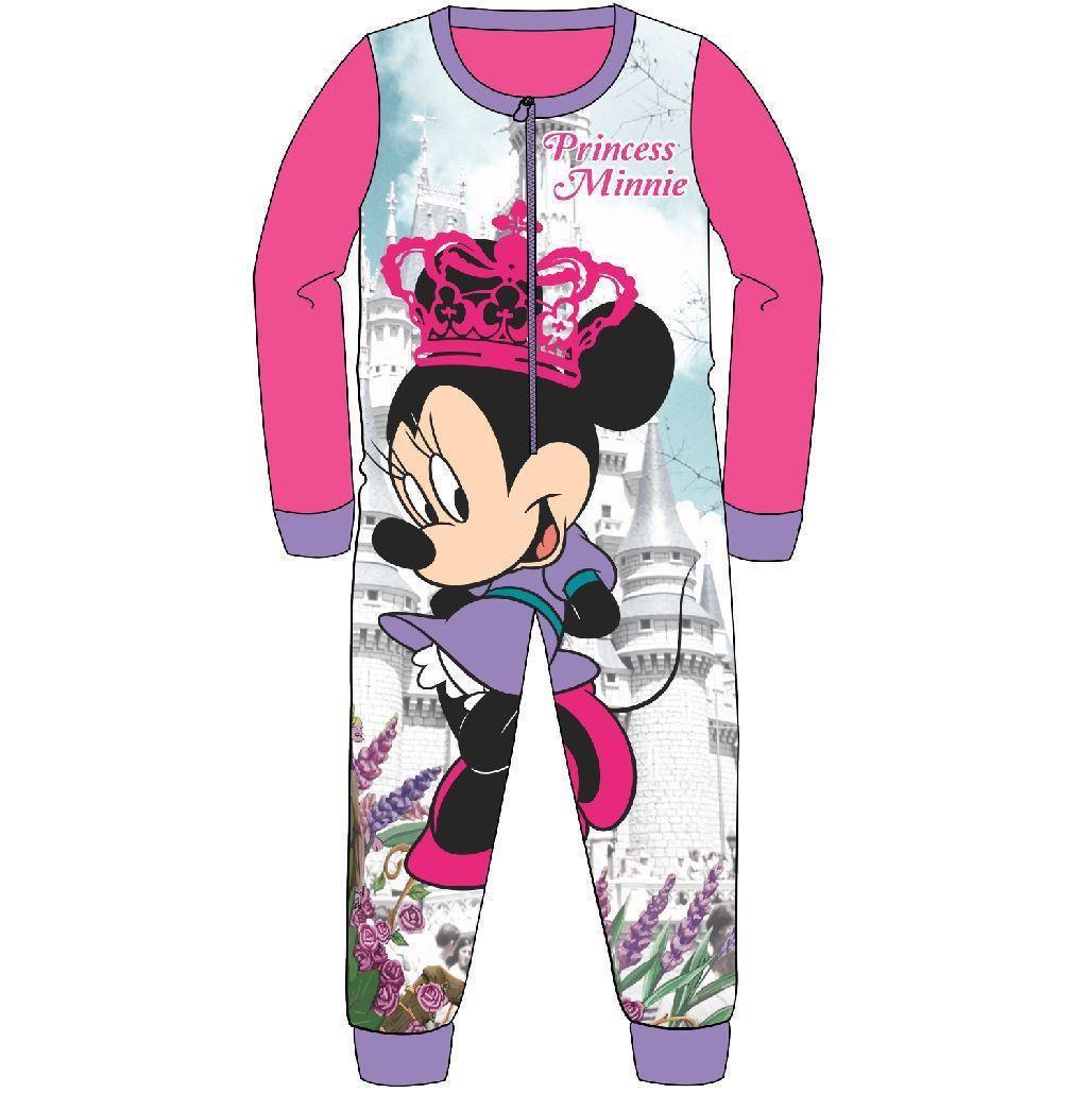 Minnie Mouse 'Princess Minnie' Fleece Onesie