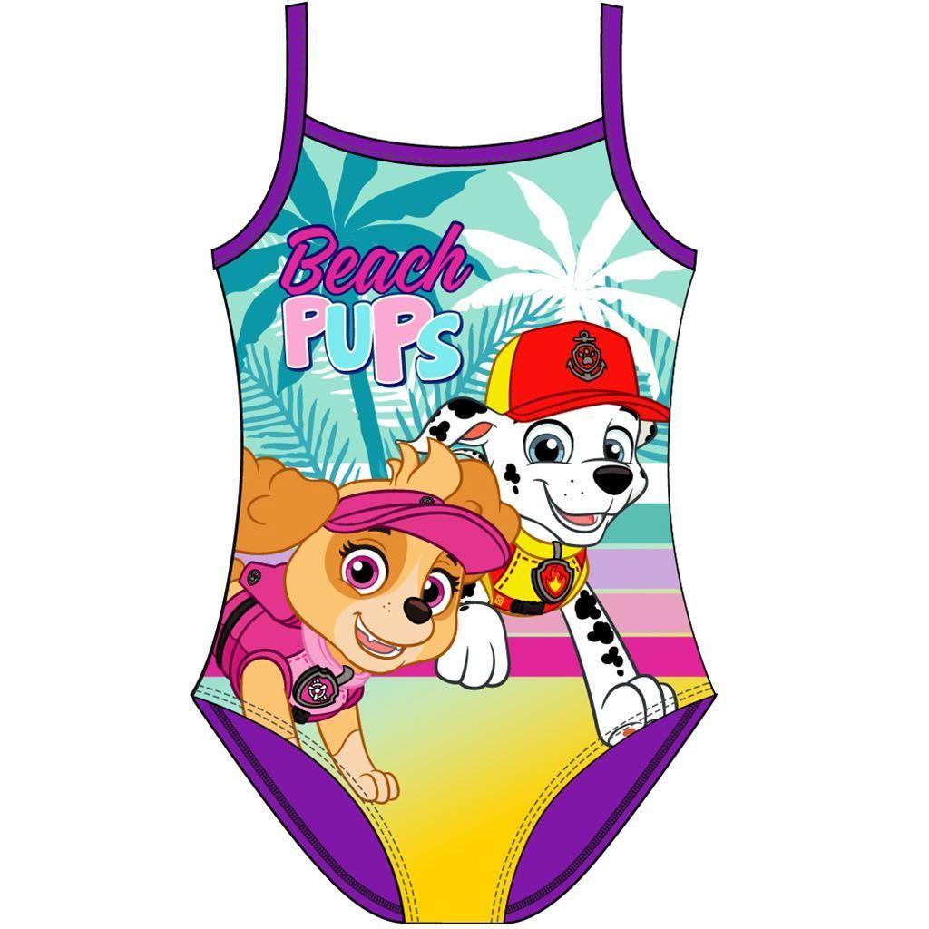 Girls Paw Patrol 'Beach Pups' Swimsuit