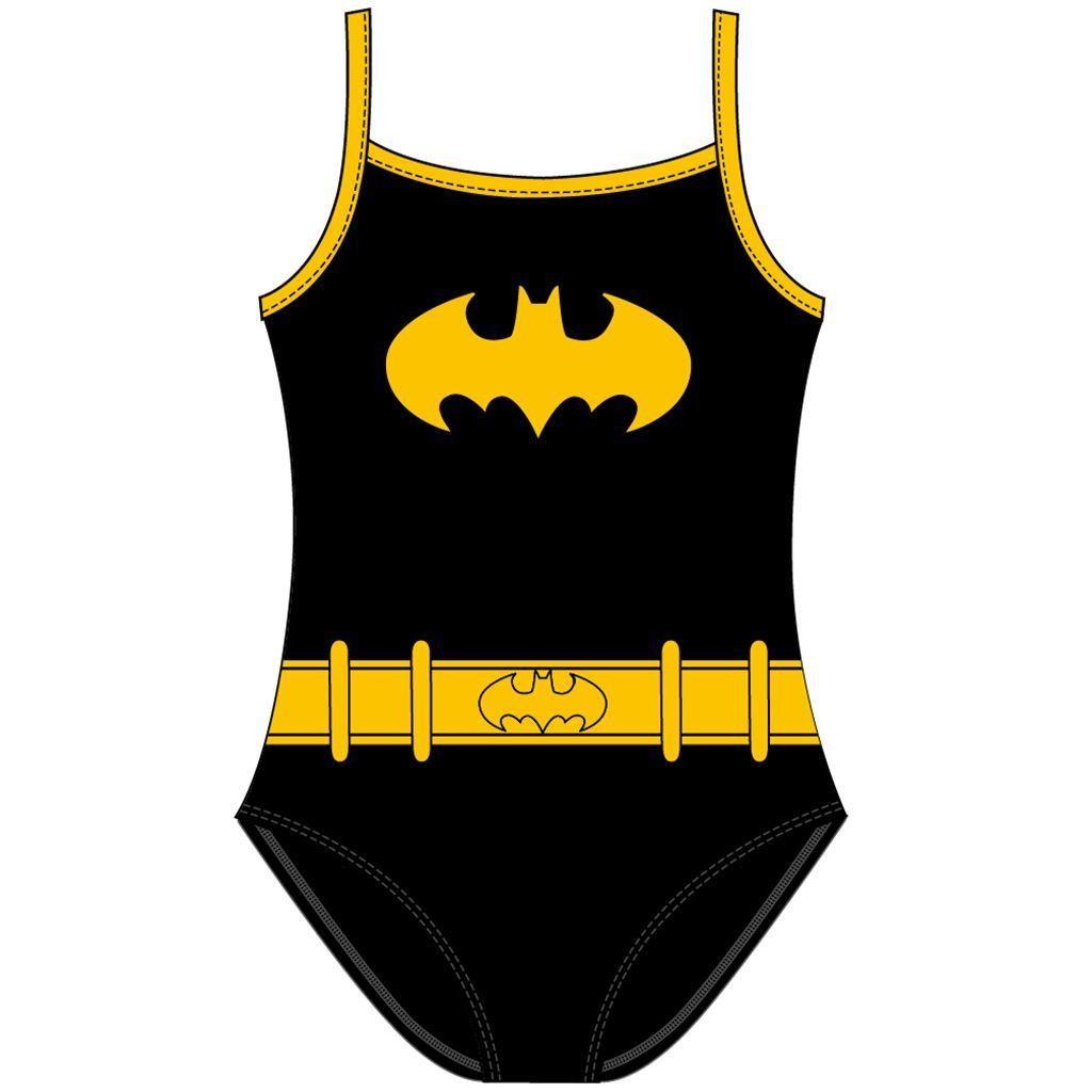 Girls Batgirl Costume Swimsuit