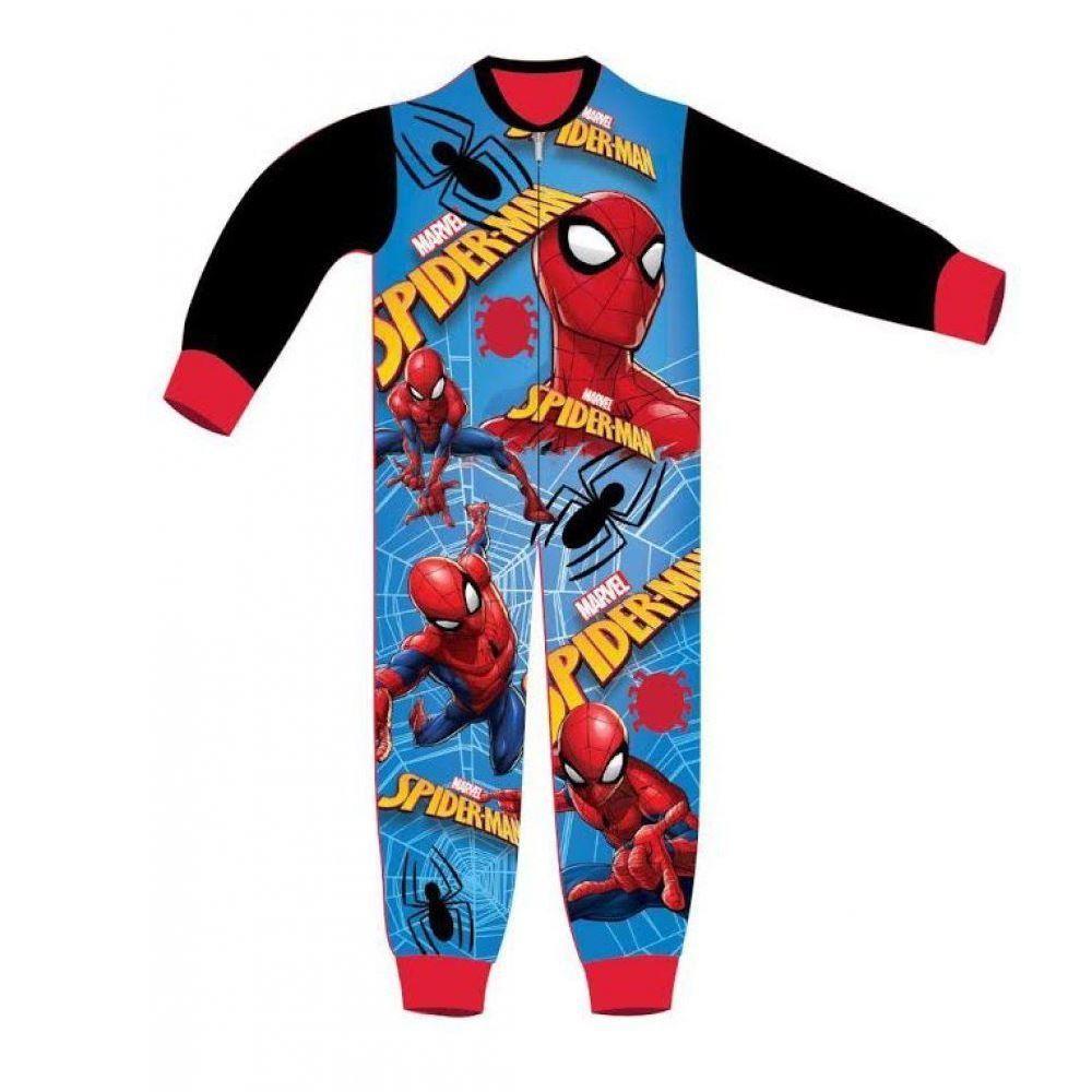 Marvel Spiderman Web Fleece Onesie