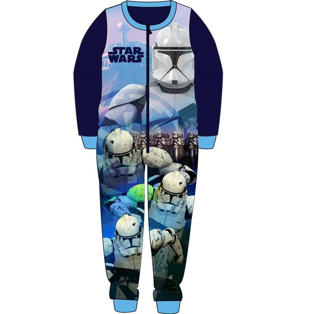 Star Wars Fleece Onesie - Blue