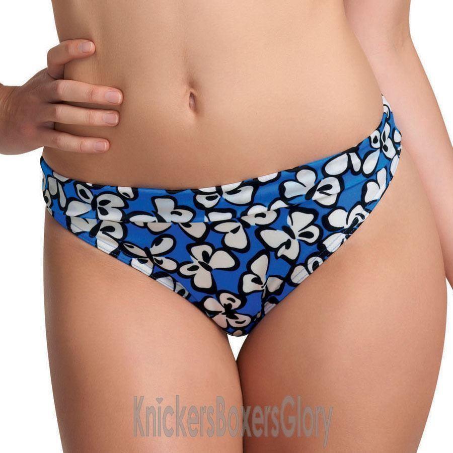 Freya Madame Fold Bikini Brief - Cobalt