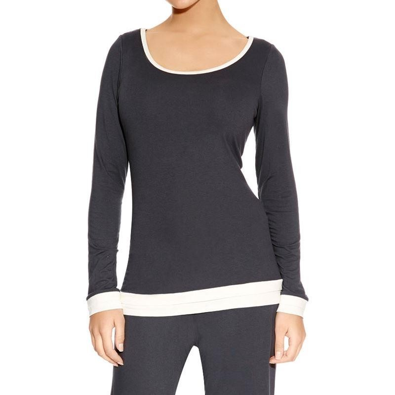 Freya Sweet Dreams Long Sleeve Top - Charcoal