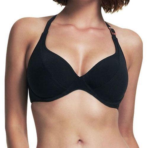 Fantasie Seattle Cross Back Bikini Top - Black