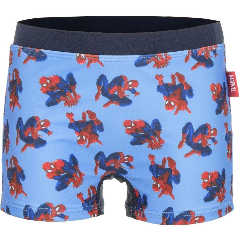 Spiderman Swimming Shorts - Light Blue