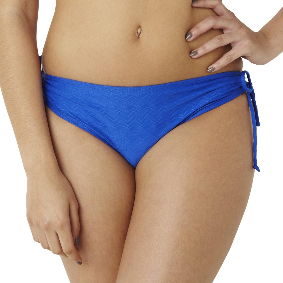 Panache Cleo Matilda Drawstring Bikini Brief - Cobalt
