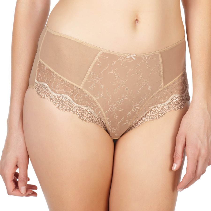 Panache Elsa High Waist Deep Brief - Vintage