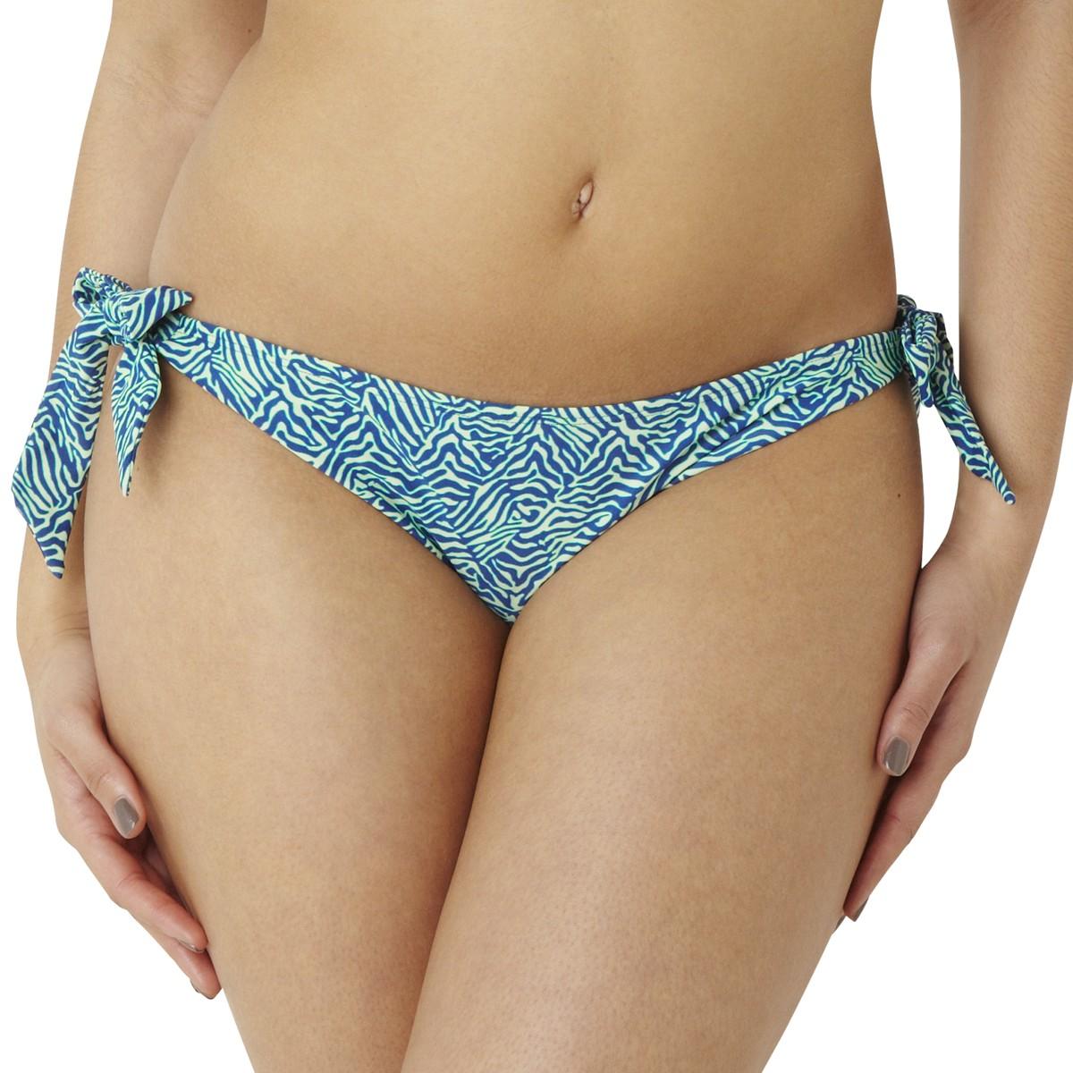 Panache Cleo Hattie Tie Side Bikini Brief - Zebra Print