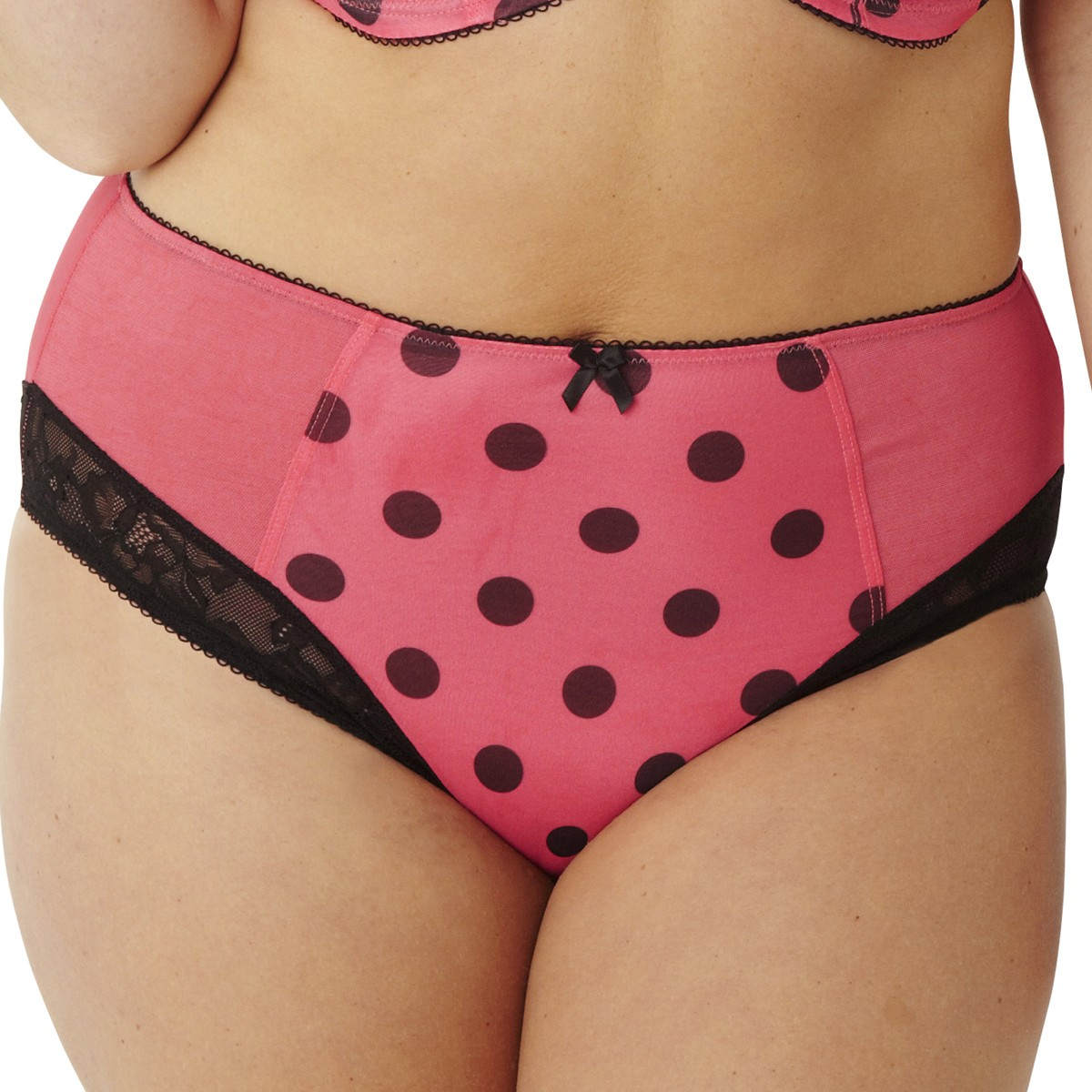 Sculptresse Flirtini Midi Brief - Cherry Spot