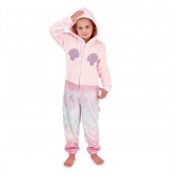 Nifty Kids Mermaid Fleece Onesie