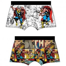 Mens Marvel Avengers Trunks (2 Pack) - White/Multi