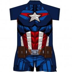 Captain America Costume Surf Suit