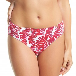 Fantasie Lanai Mid Rise Bikini Brief - Rose Red