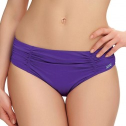 Fantasie Los Cabos Gathered Mid Rise Brief - Violet