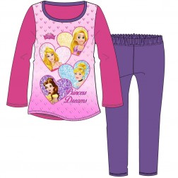 Children's Disney Princess 'Princess Dreams' Pyjamas - Pink/Purple