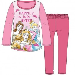 Children's Disney Princess 'Happily Ever After' Pyjamas - Pink
