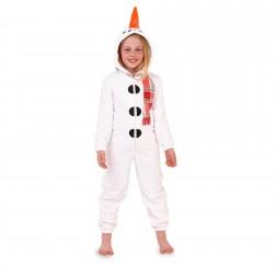 Nifty Kids Snowman Fleece Onesie
