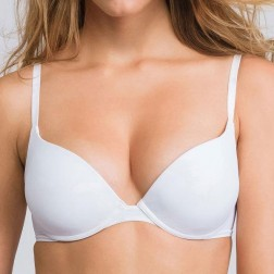 Wonderbra Ultimate Silhouette T Shirt Bra - White