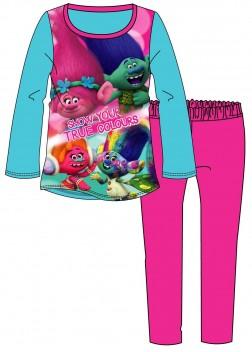 Girls 'Show Your True Colours' Trolls Pyjamas