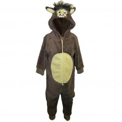 Animal Crazy Donkey Costume Onesie