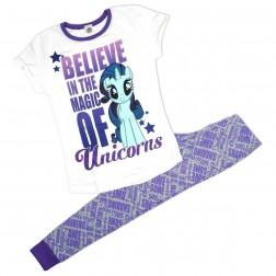 Ladies MLP Believe In Unicorns Pyjama Set