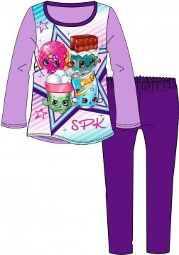 Girls Shopkins Pyjamas - Purple