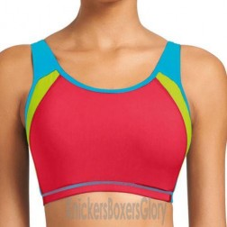 Freya Active Swim Moulded Crop Top - Jelly Bean