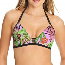 Freya Lost In Paradise Soft Triangle Bikini Top - Pink