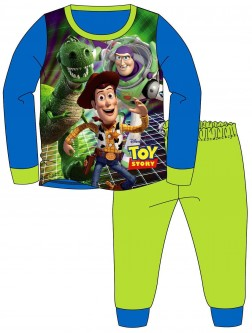 Boys Toy Story Pyjamas - Blue/Green