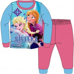 Children's Disney Frozen Pyjamas - Blue/Pink