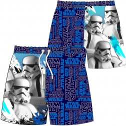 Boys Star Wars Stormtrooper Swim Shorts