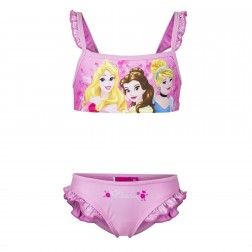 Girls Disney Princess Light Pink Bikini Set