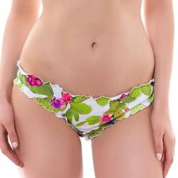 Freya Cactus Frilled Hipster Bikini Brief - Lime Fizz