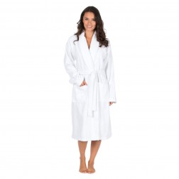 Forever Dreaming Cotton Towelling Robe - White