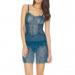 B.Tempt'd B.Sultry Chemise - Blue Ashes
