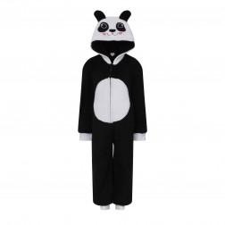 Nifty Kids Panda Fleece Onesie