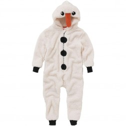 Animal Crazy Snowman Costume Onesie