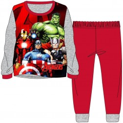 Children's Marvel Avengers Pyjamas - Grey/Red