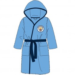Children's Manchester City FC Fleece Robe