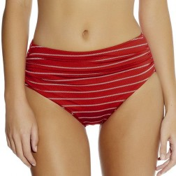 Fantasie Ravello Gathered Deep Bikini Brief - Rouge