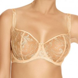 Fantasie Allegra Vertical Seam Bra - Butterscotch