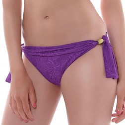 Fantasie Lombok Scarf Tie Bikini Brief - Purple Haze