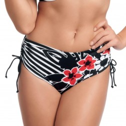 Fantasie Genoa Adjustable Leg Bikini Short - Black