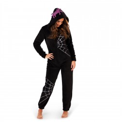 Loungeable Boutique Spider Web Onesie