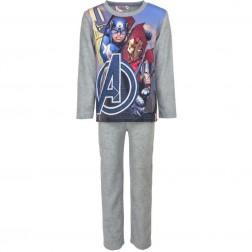 Marvel Avengers Polar Fleece Pyjamas - Grey