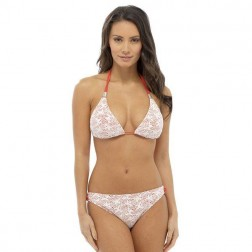 Tom Franks Crochet Bikini Set - Cream