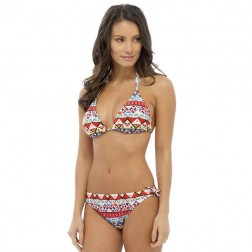 Tom Franks Bikini Set - Aztec Print